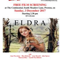 Hysbys noson ffilm 'Eldra'